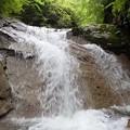 写真: 最初の小滝