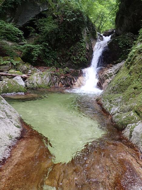 二段の小滝