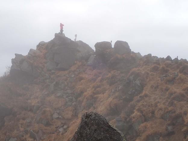 奥白根山 山頂