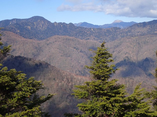 皇海山と白根山