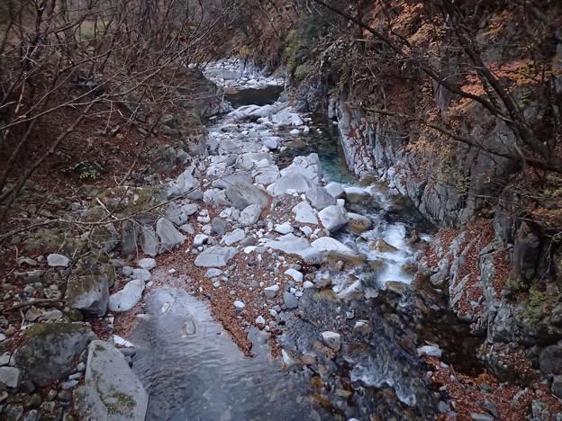 榮松橋から餅ヶ瀬川