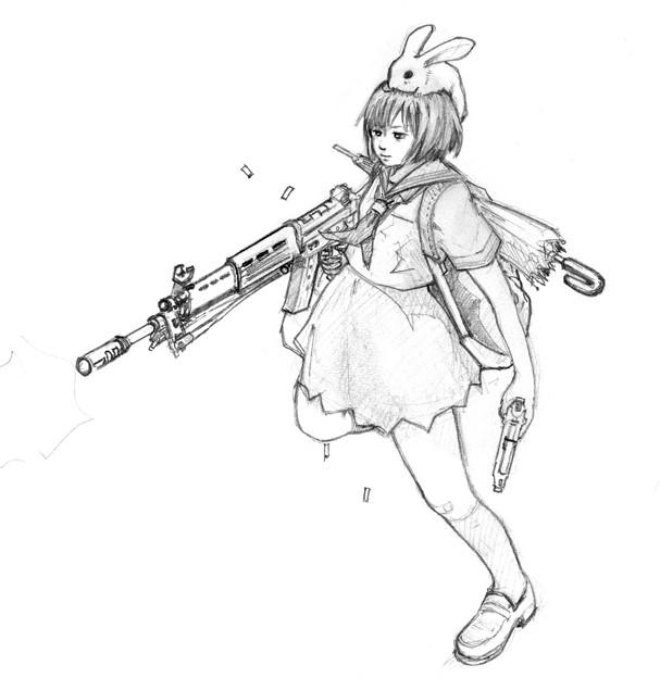 セーラー服と機関銃