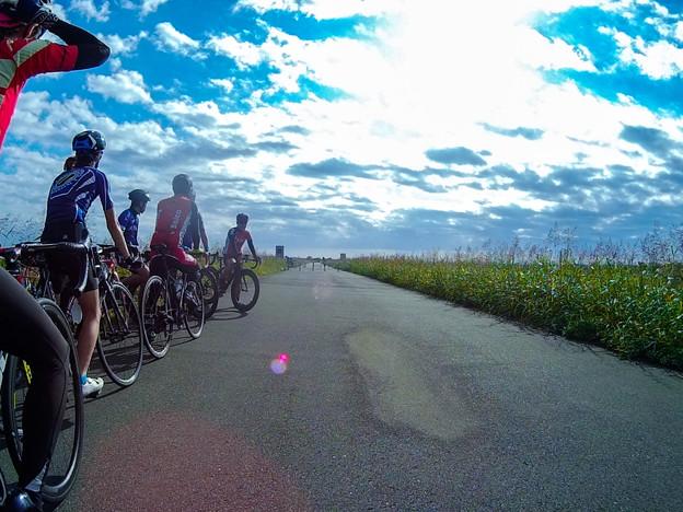 サイクリング with アクションカメラ