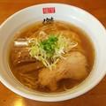 福島市の麺屋傑心さんにて鶏中華をいただく