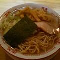 福島市の自家製麺うろたさんにて限定のカトちゃんケンちゃんラーメン 元ネタのラーメンは未食ですが美味しゅうございました