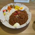 須賀川市のカレーうねるまさんにて今週のカレー 和風キーマカレー 美味しゅうございました