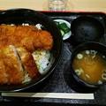 イオンモールいわき小名浜内 会津農家食堂さんでソースカツ丼をいただく 美味しゅうございました