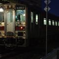 稚内駅にて@2012北海道旅行初日