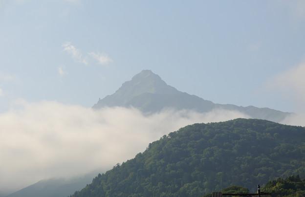 利尻富士@2012北海道旅行最終日