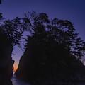 Photos: 夜明け前の神割崎