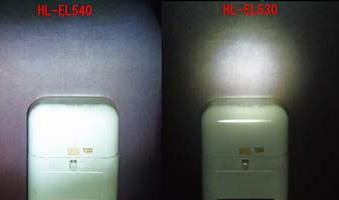 Photos: ライト比較