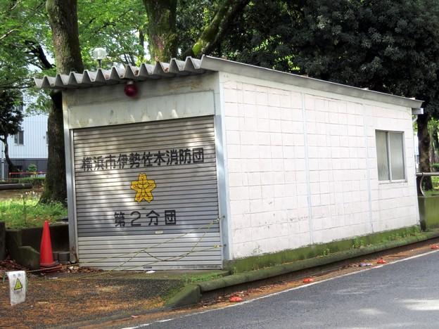 217 横浜市伊勢佐木消防団 第二分団第1班 器具置場