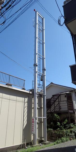 27 横浜市港北消防団 第五分団第4班 火の見櫓
