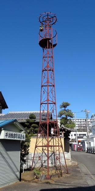 992 川崎市宮前区 平消防部 火の見櫓