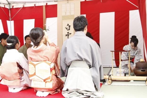 Photos: お茶席