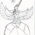 月下の騎士