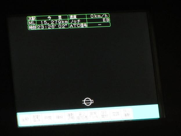 大阪地下鉄80系・運転台モニター