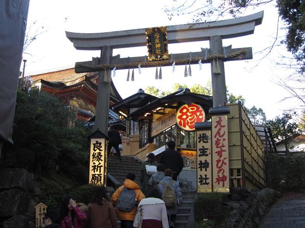 京都・地主神社