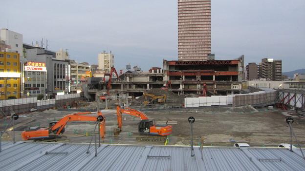 イオン京橋店(旧ダイエー)解体工事