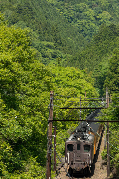Photos: 大井川鐵道 下泉~塩郷