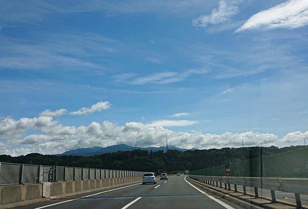 高速道路と空