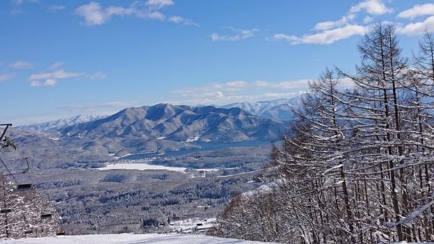 黒姫高原スノーパークからの眺め