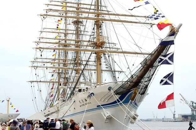 神戸開港150周年記念*海王丸2