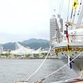 神戸開港150周年記念*海王丸とポートタワー
