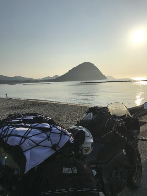 写真: 山口県萩市の某 有名ビーチ