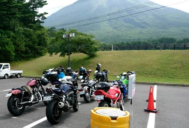 2日め バイク3台で行った 大山まきば みるくの里