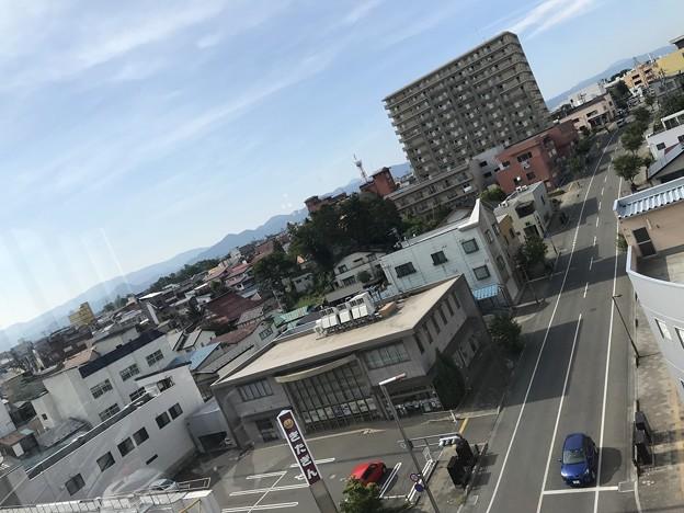 岩手県 マルカンデパート大食堂からの景色