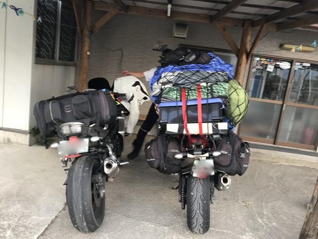 岩手県では2泊目 旅5日目の宿 ライダーハウス到着時