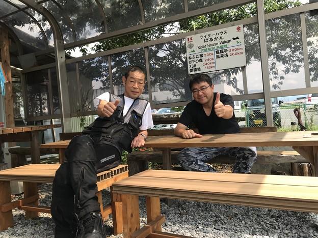 実は俺より距離ガバ師匠! 大阪のKさんと 8-9年ぶりの再会