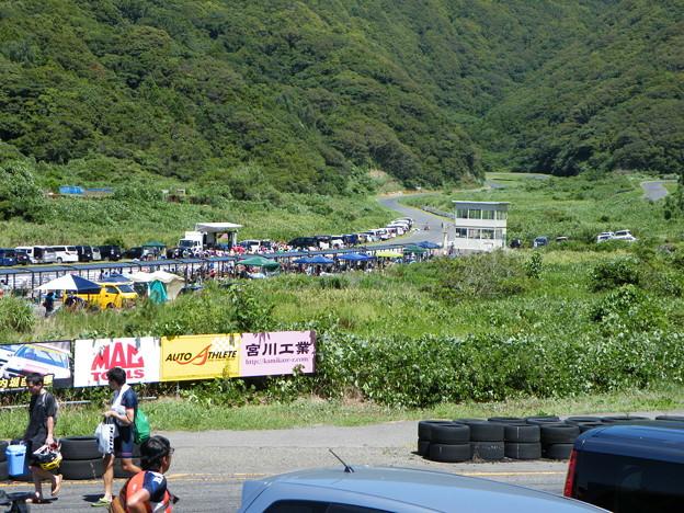 日本海間瀬サーキット 自転車レース表彰式?