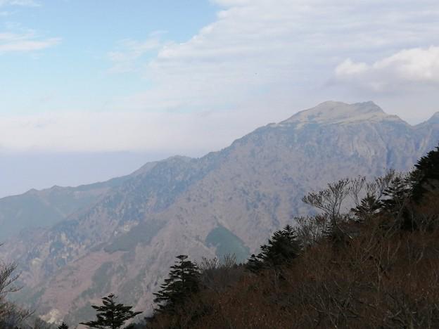 石鎚神社 からの景色 四国の山々
