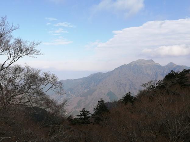 石鎚神社 からの景色