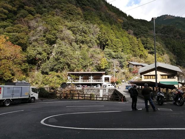 県立公園 中津渓谷 入口付近
