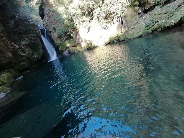 滝と蒼の美しい淵