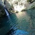 Photos: 滝と蒼の美しい淵