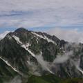 写真: 夏の剱岳