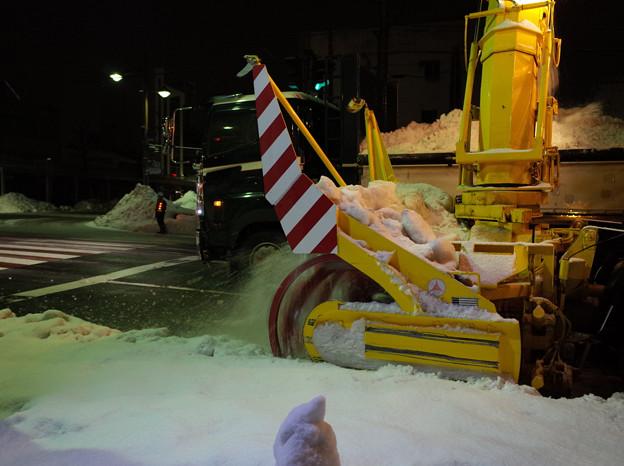 ロータリー除雪車