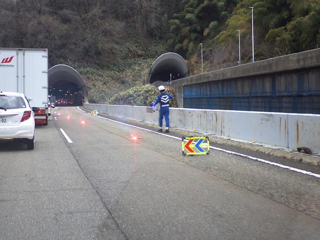 北陸道で事故