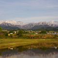 毛勝三山と剣岳