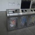 透明なゴミ箱
