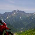千石城山からの剣岳