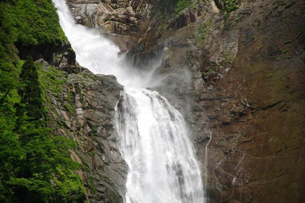 称名滝中段