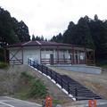 写真: 閑乗寺公園展望台近くに、何か造ってる
