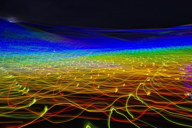 虹のかけはし、光の波