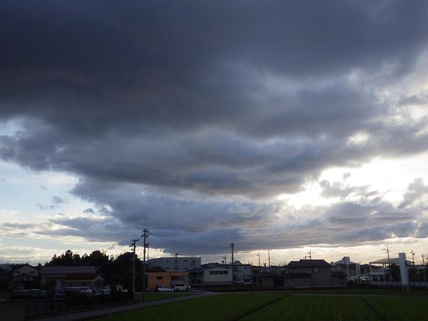 雲がコワイ