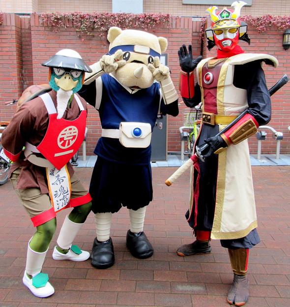 丹爺 と サイゾウ と 坂東武人 武蔵